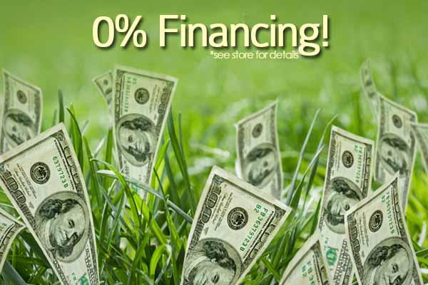 0% Financing!